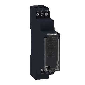 Timer 17,5mm multifunktion 0,1s-100t 1 C/O 5A 12-240VAC/DC RE17RMMW