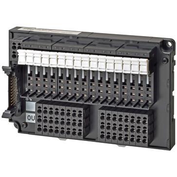 Relæudgang blok base, 16 point (kræver G2V/3RV relæer), NPN (+Almindelig), push-in plus terminaler G70V-ZOM16P 670568