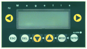 Magelis operatørpanel 4X20 (MULTI) XBTN401