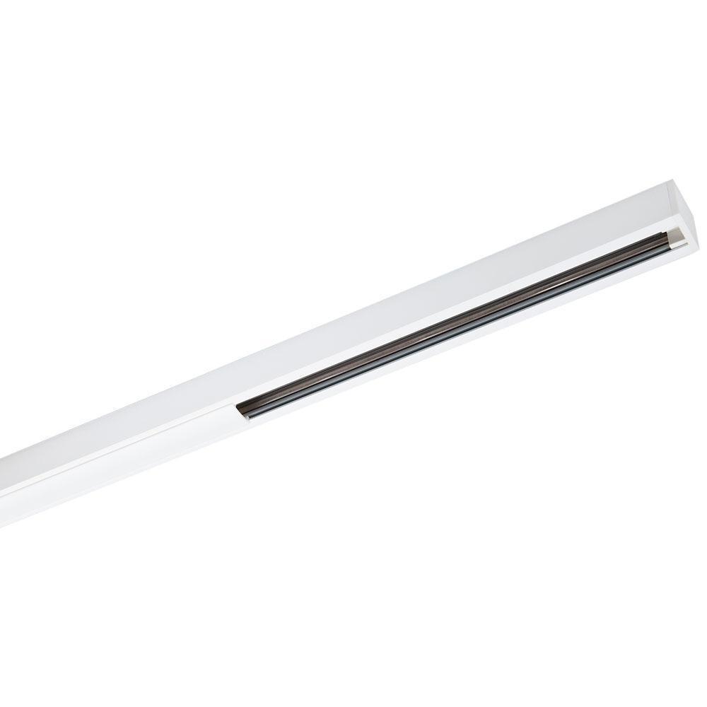 Zip Skinne Mat-Hvid 1,15m