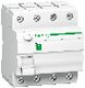 Resi9 HPFI-afbryder iID, 4P 40A, 415V, 30mA, klasse A, med enkelt terminal, bredde 72 mm 3322092751