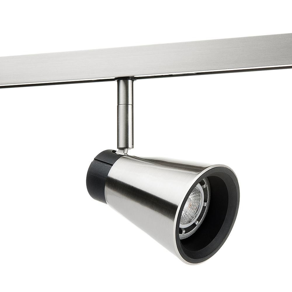 Zip Zoom Børstet stål 6W LED 2700K