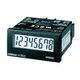 Tæller, 1/32DIN (48x24 mm), self-powered, LCD, 8-cifret, 30cps/1kcps, no-V-indgang, sort urkasse H7EC-N-B OMI 7823400864