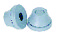 TET 26-35 Grommet grey EPDM bulk IMT37319 miniature