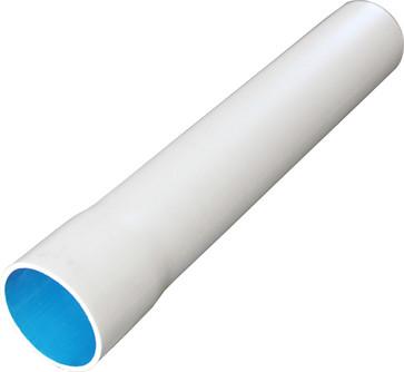Plastrør stiv halogenfri 320N 16mm hvid med muffe i 4 meters længde 70005394