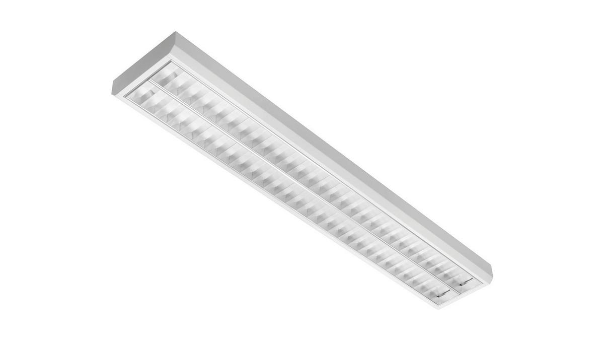 Classic 2M OMS 4200lm/41W/830 LED FIX 1198x210 nedhængt/påbyg blank reflektor hvid