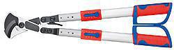 Kabelsaks (Skraldeprincip) med teleskopskaft med flerkomponent-håndtag 570 mm 95 32 038