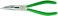 Stahlwille fladrundtang med skær 6530 200 mm 65306200 miniature
