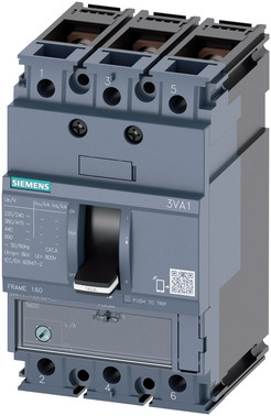 Maksimalafbryd,fs160,32A,3p,25ka,tm220 10 x in kabel 3VA1132-3EE36-0AA0