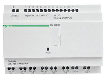 Zelio SR2 startpakke 20 i/u 24VDC SR2PACK2BD