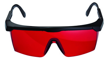 Laser viewing glasses for red laser 1608M0005B