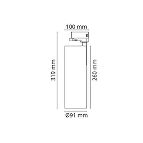 Tube Mat-Hvid 3000K, CRI80