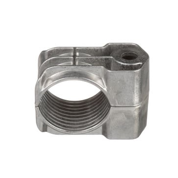 Cable Cleat, Aluminum, 1-Hole Configuration w/a Cable Diameter of 51-57mm CCAL1H5157-X