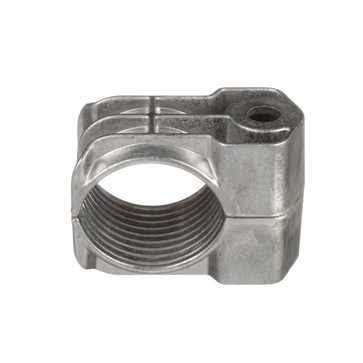 Cable Cleat, Aluminum, 1-Hole Configuration w/a Cable Diameter of 19-23mm CCAL1H1923-X