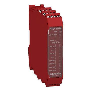 "XPSMCM udvidelsesmodul 4x2SDO ""relæ"" 8DO XPSMCMRO0004DA"
