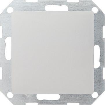 Blindafdækning med holdering System 55 hvid mat 026827
