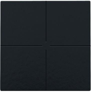 4-tryk, Bakelite® piano black coated, NHC 200-51004