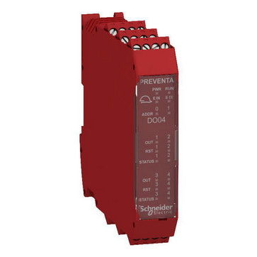 XPSMCM udvidelsesmodul 4x2 SDO XPSMCMDO0004