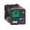 Stikbensrelæ 10A 3C/O 24VDC med LED og testknap RUMC32BD miniature