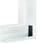 Fladvinkel plast for BR65100 RAL 9016 BR6510059016 miniature