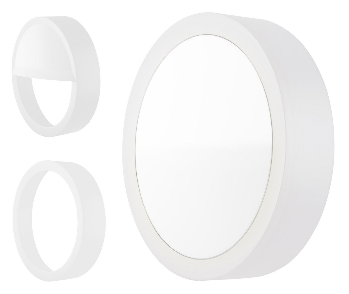 LEDVANCE Surface Outdoor - 10W/800lm 3000K IP65/IK10 hvid