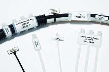 Componentlabel 28 x 16 white for TT431 printer 596-12258