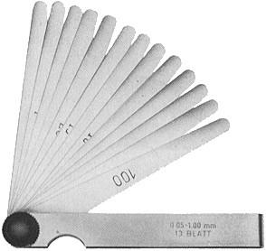 Søgerbladsæt MIB 81007 0,05-1,0mm 13 BL 6678006