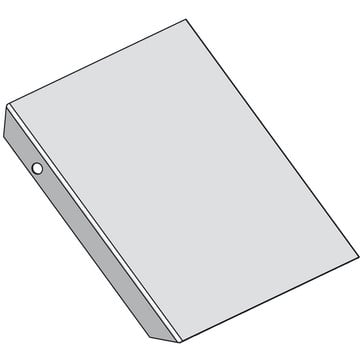 Låg for udvendig  bøjning 300MM CSU30223002
