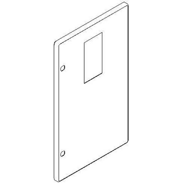 Tabula låge for måler 3X5M grå 230B305015
