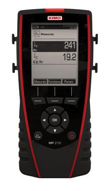 Multi-probe portable thermo-anemo-manometer,  Supplied wth SOLE 5706445792047