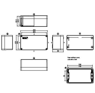 Montagekasse KLIPPON POK 122209 EX 1306070000
