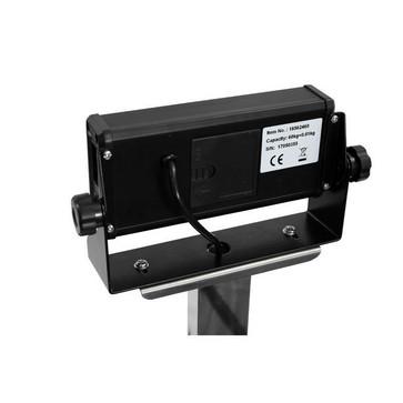 Gulvvægt 60 kg / inddeling 10 g med LCD display og 550x420 mm vejeplade 18562460