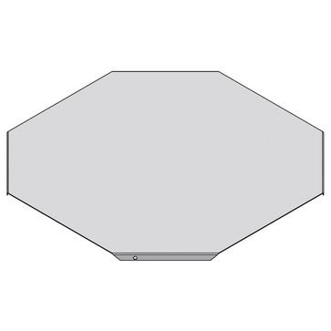 Låg for x-stykke 600 MM CSU30166002
