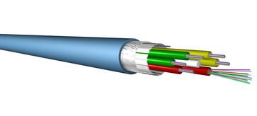 Fiberkabel Loose Tube 8X12 SM2D OS2 LSZH ECA 60019394