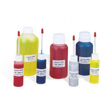 250 ml Liquids for manometers VF1,Yellow manometer liquid, Density = 1 5703317472588