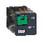 Stikbensrelæ 10A 3C/O 24VDC med testknap RUMC31BD miniature
