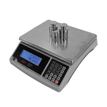 Pakkevægt 30 kg / inddeling 1,0 g med tællefunktion og LCD display 18560360