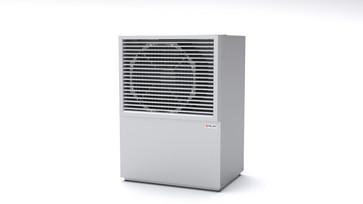 Nilan AIR9+ air/water heat pump outside part white/alu 74109U02