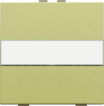Tangent med tekstfelt til 2-tryk, gold coated 221-00006