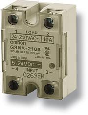 Køleplade, slank model, DIN-skinne montering, for G3NA-450B-2 SSR Y92B-P250 107406