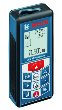 Blå bosch laserafstandsmåler glm 80 0601072300