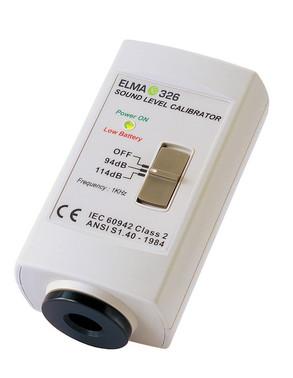 Elma 326 sound calibrator 5703317650436