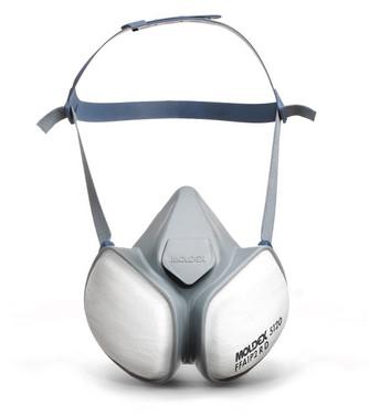 Moldex halvmaske 5120 01 A1P2 R D Compact Mask 512001