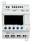 Zelio Logic SR3 Kompakt smart relæ/ programmerbar controller 10 I/Os, 24 V DC, med LCD SR3PACKBD miniature