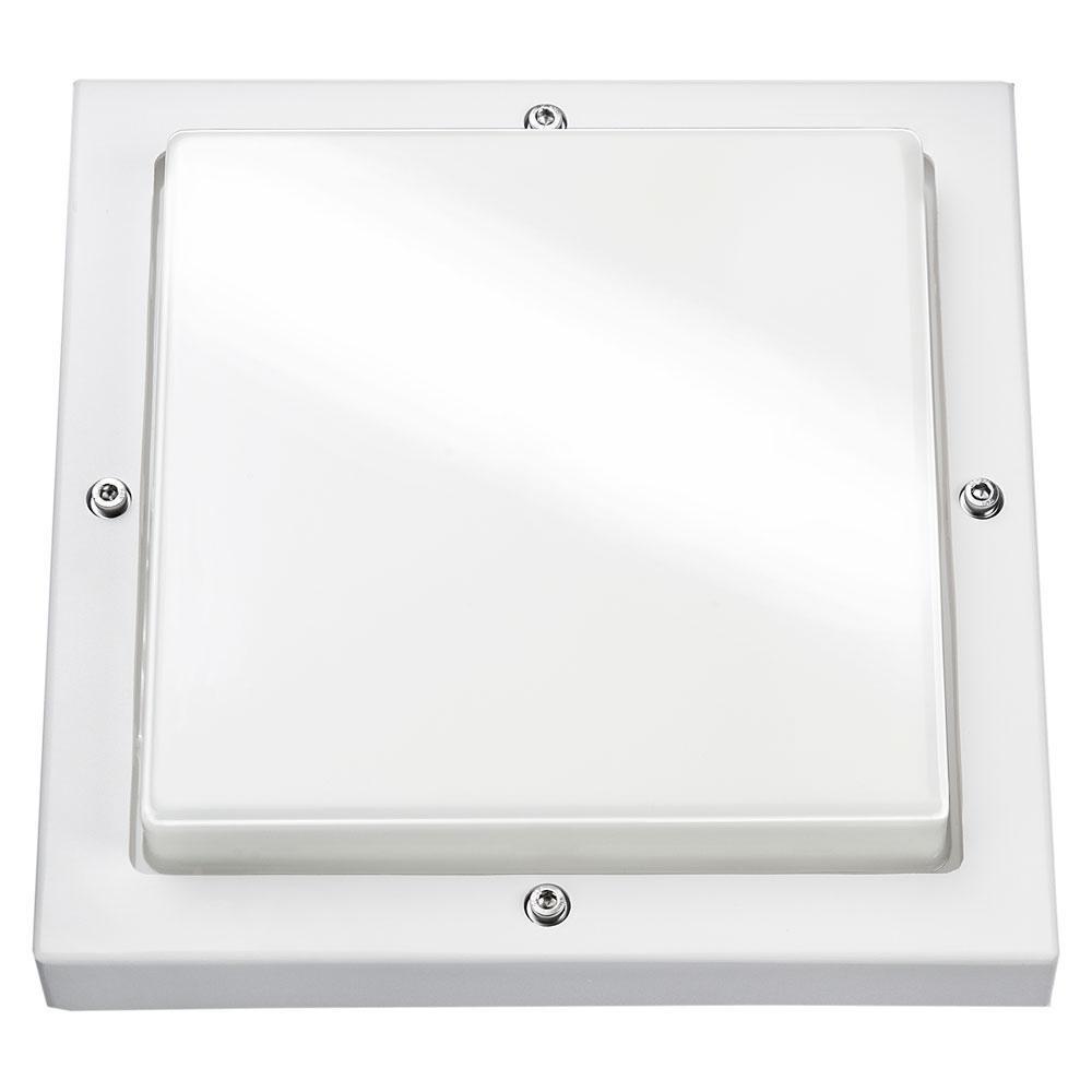 Bassi Mat-Hvid 10W LED 3000K m/skumring