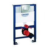 GROHE Rapid SL 3in1 WC 0,82 m SC med krom trykknap, 39456000