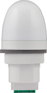 Advarselslampe med LED og multifarver 12/24V 91168