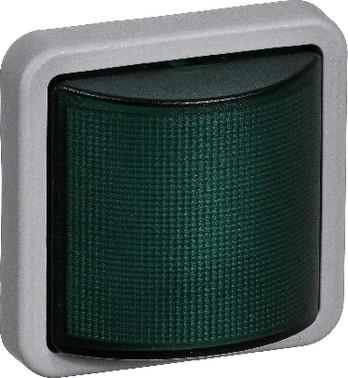 OPUS 74 Industri indsats signallampe LED 230 V, konstant/blink, grøn 522M3812