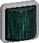 OPUS 74 Industri indsats signallampe LED 230 V, konstant/blink, grøn 522M3812 miniature