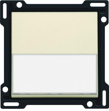 Tangent, enkelt, med tekstfelt, cream 100-60905